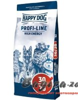 Happy Dog (Хеппи Дог) Profi-Line High Energy 30/20 корм для собак с высокой активностью 20 кг