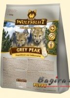 ​Wolfsblut (Вольфсблат)​ Grey Peak Puppy Седая вершина​ сухой корм для щенков с мясом бурской козы​ 15 кг​​
