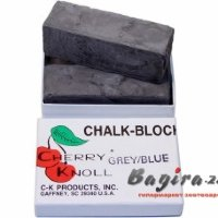 С.K. Chalk Block  45CKN001  (pack 2) Black мел черный 75х25х25 мм (в комплекте 2 бруска)