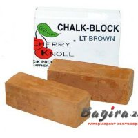 С.K. Chalk Block  45CKN004  (pack 2) Light Brown мел светло-коричневый 75х25х25 мм (в комплекте 2 бруска)