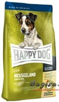 Happy Dog (Хеппи Дог) Mini Neuseeland корм для собак мелких пород ягнёнок, рис 4 кг
